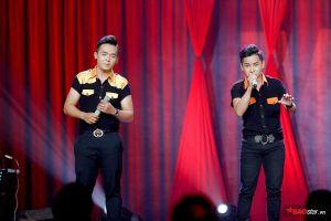 Cặp đôi song ca Nguyễn Hân - Hoàng Phúc 'đóng giả' Anh Ba Ngọc Sơn cực bảnh trong tập 7 Thần tượng Bolero 2019