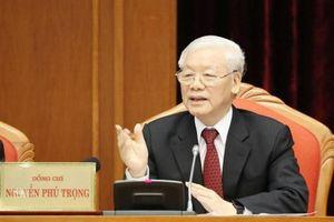 Khai mạc Hội nghị lần thứ 10 Ban Chấp hành Trung ương Đảng khóa XII