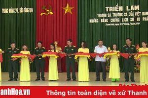 Gần 300 hình ảnh, tư liệu tại triển lãm 'Hoàng Sa, Trường Sa của Việt Nam - Những bằng chứng lịch sử và pháp lý' tại Tĩnh Gia