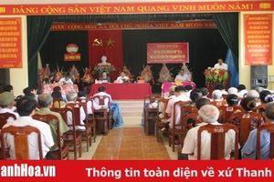 Đại biểu HĐND tiếp xúc cử tri tại huyện Thiệu Hóa