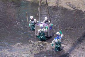 Nhật Bản tài trợ, Hà Nội bắt đầu làm sạch sông Tô Lịch