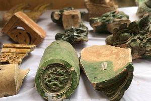 Những báu vật mới khai quật dưới lòng đất Hoàng thành