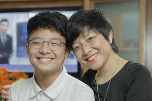 Con trai thông báo thi học kỳ được 6 điểm, MC Thảo Vân phản ứng thế nào?