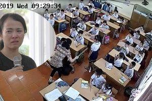 Đánh tới tấp vào đầu nhiều học sinh lớp 2, nữ giáo viên vừa khóc vừa xin lỗi