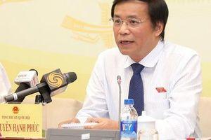 Tổng Thư ký Quốc hội Nguyễn Hạnh Phúc: Kỳ họp này sẽ bàn về việc ra nghị quyết nhằm hạn chế ngay tình trạng uống rượu bia khi lái xe
