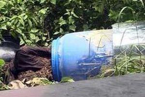 Vụ 2 thi thể trong khối bê tông: Hàng xóm kinh hãi, không dám ngủ