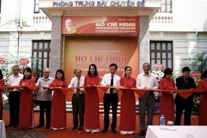 Khai mạc trưng bày 'Hồ Chí Minh - Chân dung một con Người'