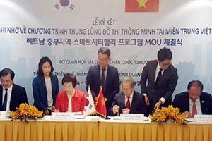 KOICA, TT-Huế, Đà Nẵng và Quảng Nam ký kết chương trình thung lũng đô thị thông minh