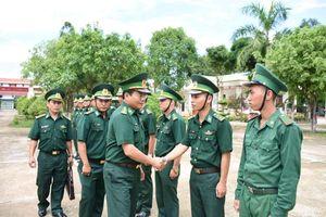 Bộ Tham mưu BĐBP kiểm tra tại Đồn Biên phòng Vĩnh Nguơn