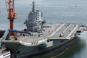 Tàu sân bay 'nhà làm' đầu tiên của Trung Quốc chuẩn bị được biên chế?