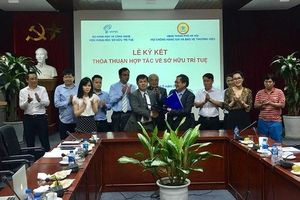 Viện Khoa học Sở hữu trí tuệ và HATAP ký thỏa thuận hợp tác về sở hữu trí tuệ