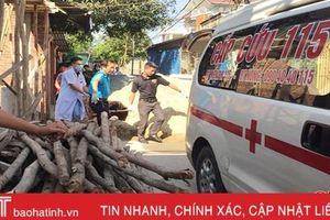 Nóng: Nghi án chồng cứa cổ vợ rồi tự sát ở Hà Tĩnh
