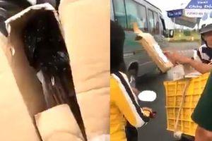 Mua giày online nhận được hộp toàn giấy, cô gái vẫn bị shipper bắt trả 748 ngàn