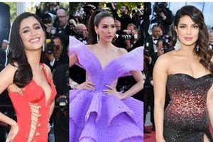 Thảm đỏ Cannes 2019 ngày thứ 3: 'Đội quân' mỹ nhân Thái Lan chiếm spotlight, Hoa hậu thế giới xuất hiện với thân hình mũm mĩm