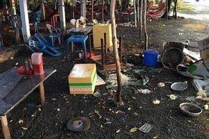 Nhóm thanh niên đập phá quán ăn 'chặt chém' khách ở Bến Lức bị khởi tố