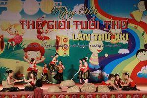 Tổ chức ngày hội 'Thế giới tuổi thơ lần thứ XXII'