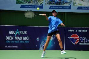 Tay vợt 12 tuổi thắng trận ở Cúp Hải Đăng 2019