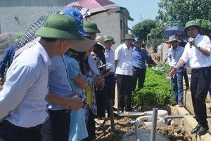 Giải pháp thu gom, xử lý nước thải sinh hoạt ở khu dân cư nông thôn