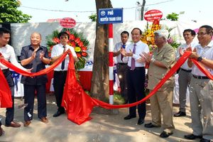 Hà Nội: Gắn biển tên phố Nguyễn Thanh Bình và Vũ Văn Cẩn