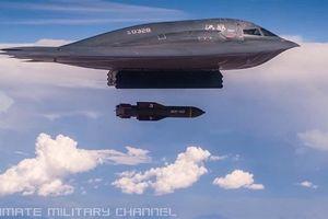 Mỹ khoe siêu bom diệt boongke khi căng với Iran