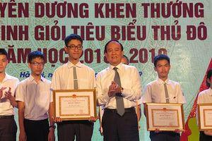 Hà Nội tuyên dương hơn 1000 học sinh giỏi tiêu biểu