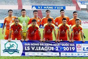 Cầu thủ trẻ SLNA 'vật vã' khẳng định mình ở đội bóng hạng Nhất