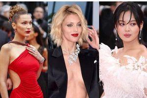 Thảm đỏ Cannes 2019 ngày 4 'ngộp thở' với các màn hở ngực táo bạo