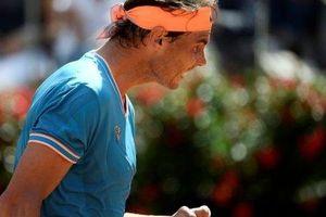 Tứ kết Rome Masters: Nadal thắng chóng vánh, Federer bất ngờ bỏ cuộc