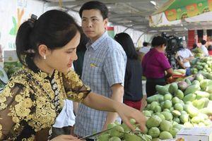 Người Hà Nội 'đội nắng' mua nông sản an toàn từ Sơn La