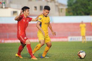Lịch thi đấu V-League 2019 ngày 18/5: Cơ hội cho Hải Phòng và SLNA