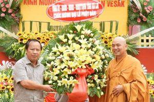 Lãnh đạo tỉnh Gia Lai dự Đại lễ Phật đản