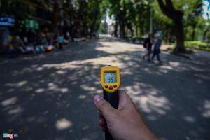 Những tuyến phố chống oi bức ngày nóng 40 độ C ở Hà Nội