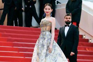 Hề Mộng Dao gợi cảm, Hà Tuệ mặc lố trên thảm đỏ Cannes 2019