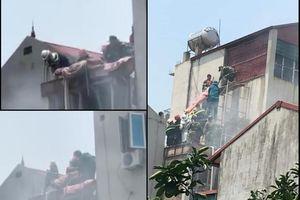 Hà Nội: Khẩn trương điều tra nguyên nhân cháy quán cà phê làm 2 người chết