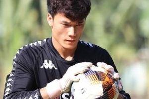 Lần đầu bắt chính cho Hà Nội, Bùi Tiến Dũng lại có hy vọng dự King's Cup