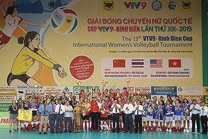 Cúp bóng chuyền nữ quốc tế VTV9 Bình Điền 2019: Tứ Xuyên vượt qua BIP để lên ngôi