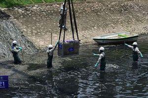 Làm sạch sông Tô Lịch bằng công nghệ NB: Người dân nói gì sau 3 ngày thử nghiệm?