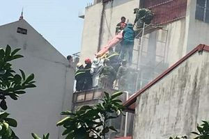 Điều tra nguyên nhân cháy quán cà phê làm 2 người chết