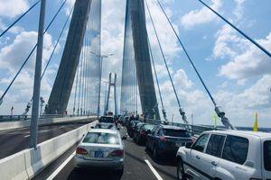 Khánh thành cầu Vàm Cống 271 triệu USD sau 6 năm xây dựng