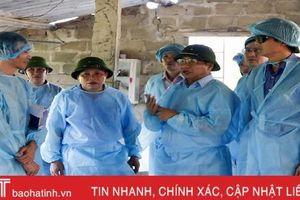 Bí thư Tỉnh ủy Hà Tĩnh: Phòng, chống dịch tả lợn châu Phi là nhiệm vụ cấp bách hàng đầu