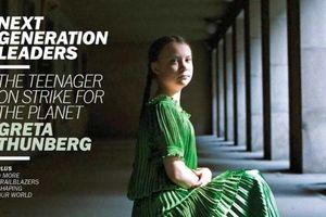 Nhà hoạt động khí hậu tuổi teen Greta Thunberg sẽ lên trang bìa tạp chí Time