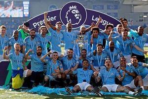 Man City hoàn tất 'cú ăn 3' trong lịch sử bóng đá Anh