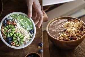 Muốn giảm cân mùa hè, bạn hãy nhớ 2 công thức sinh tố siêu ngon này cho bữa sáng