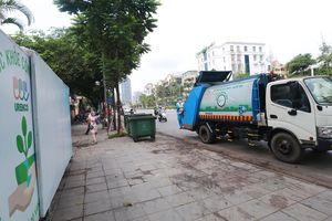 Cận cảnh những 'ngôi nhà di động' dành riêng cho xe đẩy rác ở Thủ đô