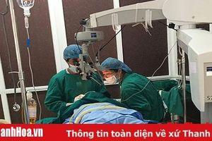 Nghiên cứu, ứng dụng kỹ thuật phẫu thuật ghép giác mạc điều trị bệnh lý giác mạc tại Bệnh viện Mắt Thanh Hóa