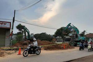 Bình Dương: Sập hố đất, nam công nhân tử vong