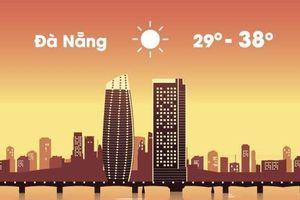 Thời tiết ngày 20/5: Hà Nội mưa dông, Đà Nẵng còn nắng nóng 38 độ C