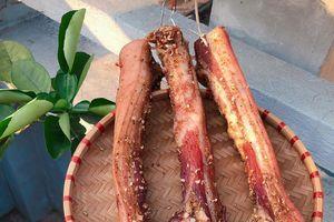 Món thịt ba chỉ một nắng ra đời sau những ngày nóng kỷ lục ở Hà Nội
