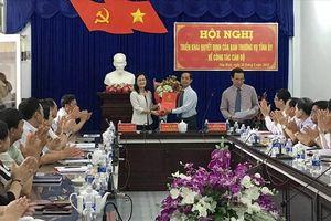 Bạc Liêu: Phó Chủ tịch HĐND tỉnh làm Bí thư huyện Hòa Bình