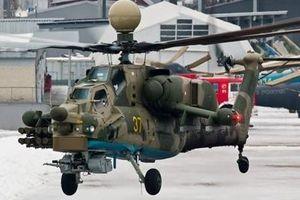 Nga bất ngờ rút trực thăng Mi-28NM tại Syria về nước